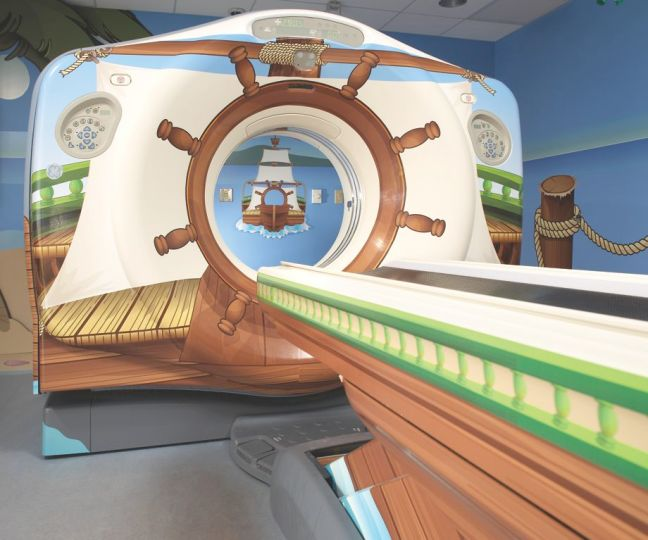 pirate ship MRI